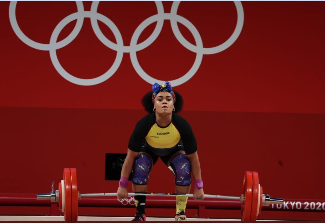 ¡Orgullo ecuatoriano!  Neisi Dajomes ganó la medalla de oro