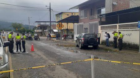 Motorizados asesinan a un hombre en Calceta