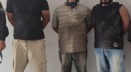 Manta: tres hombres son detenidos por presunta organización delictiva