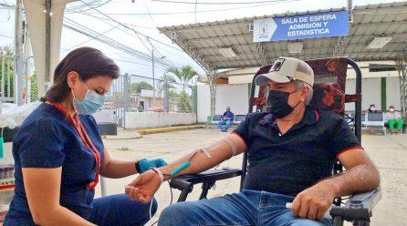 Este miércoles será la campaña de donación de sangre en Los Esteros de Manta