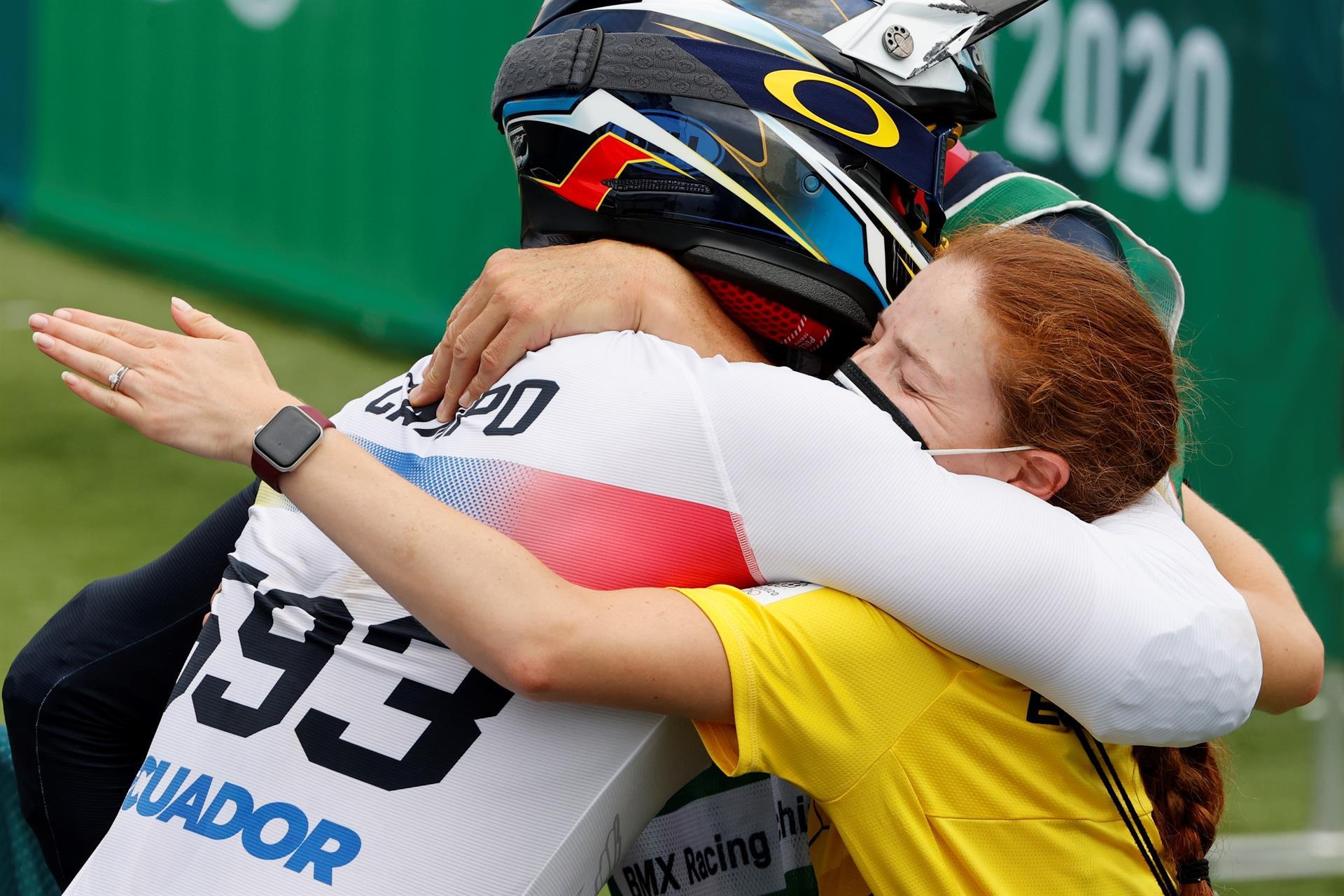 Ecuador gana diploma olímpico con el ciclista Alfredo Campo en BMX Racing