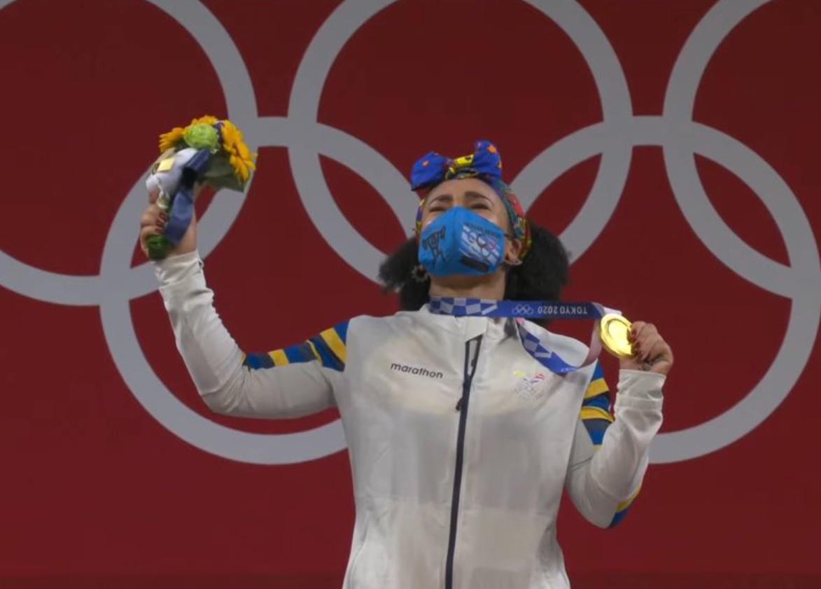 ¡Neisi inigualable! primera mujer ecuatoriana con medalla de oro en Olímpicos